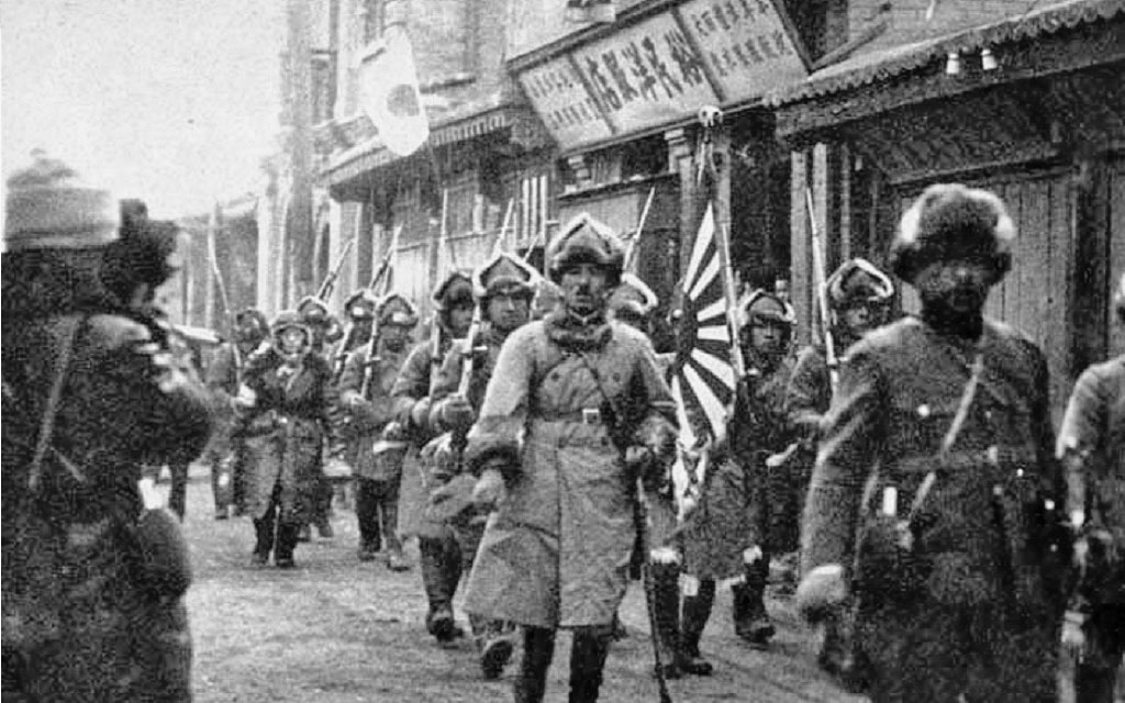 Японская оккупация Маньчжурии.