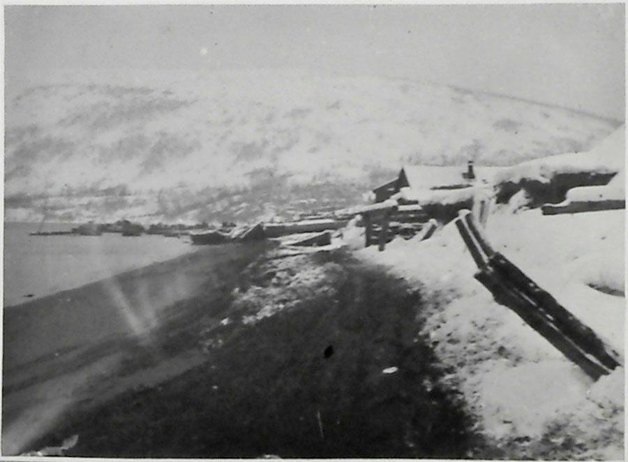 Состояние нагаевского порта после шторма с 24 на 25 ноября 1932 года.