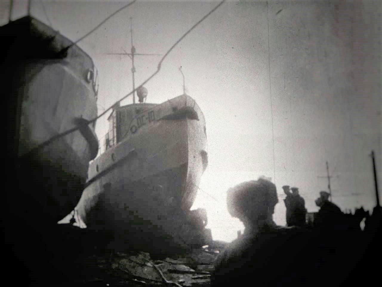 Катера, изготовленные на нагаевской судоверфи. 30-е годы.