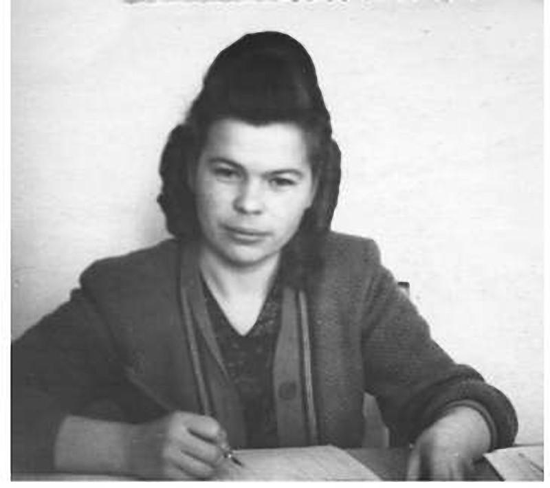 А.Ф. Ларионова. Фото из архива семьи Ларионовых.