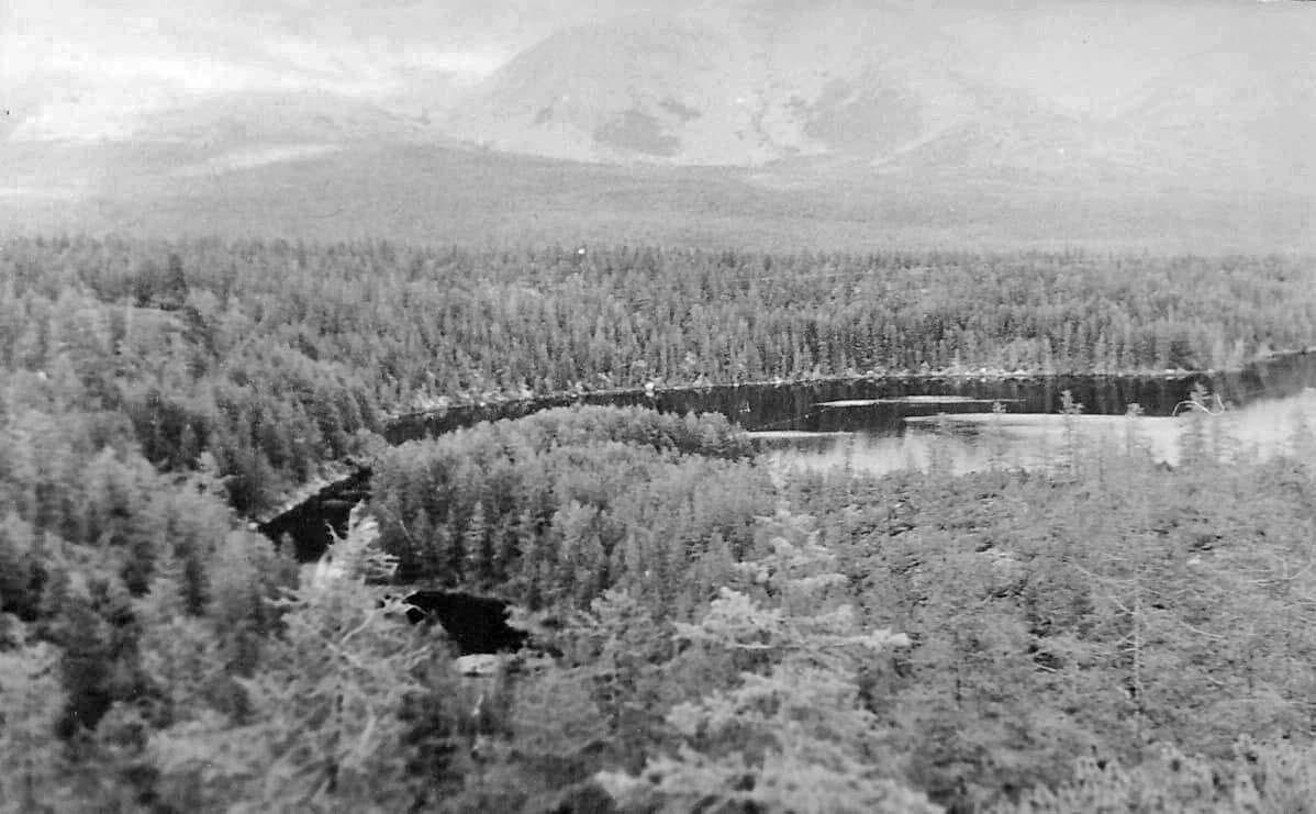 Озеро с полуостровом. Из архива Валерия Мусиенко.