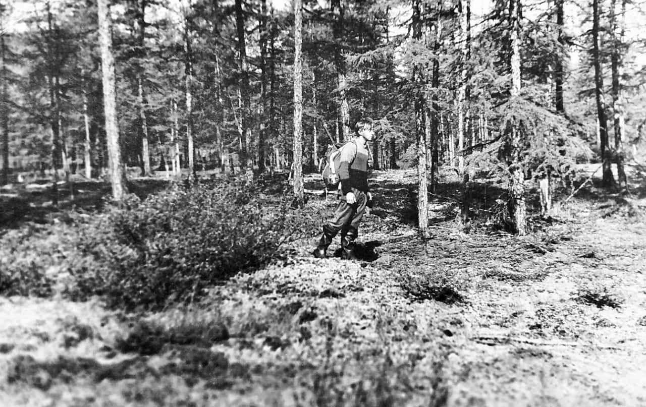 Начало пути от 440 шахты. Из архива Валерия Мусиенко.