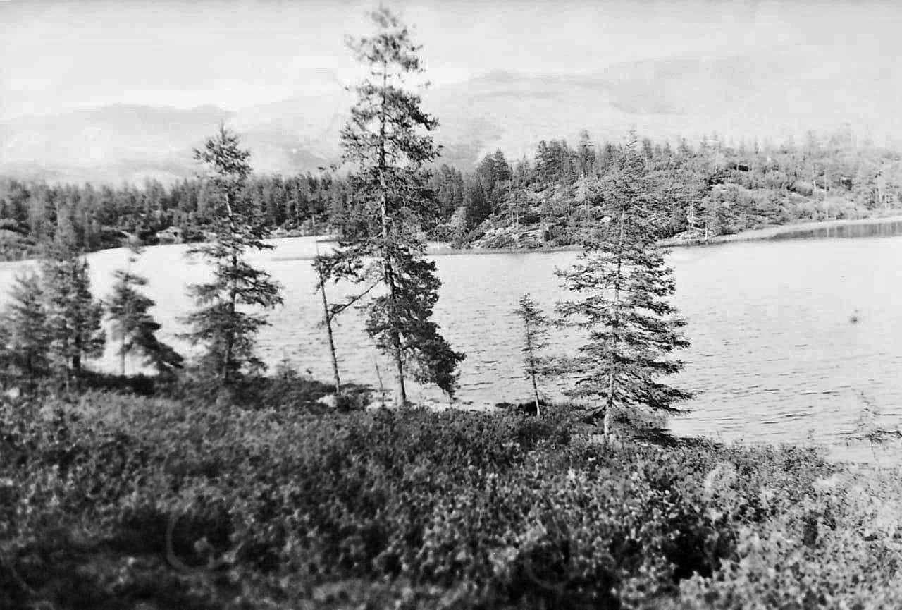 Озеро Фигурное. Из архива Валерия Мусиенко.