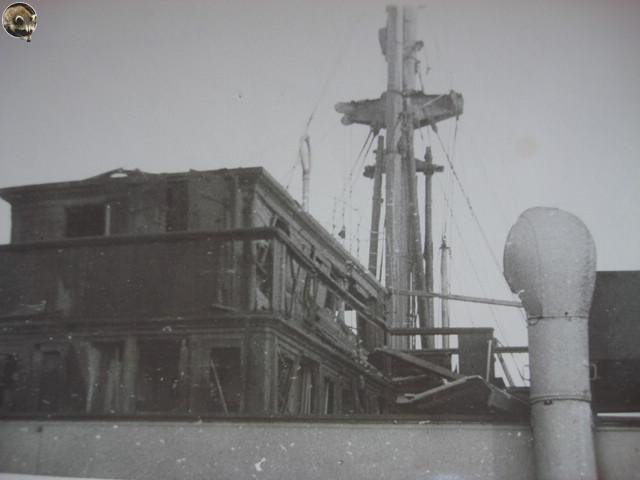 Капитанский мостик парохода «Минск»