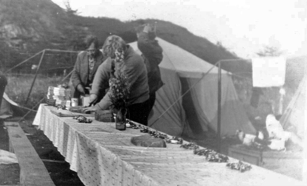 В археологической экспедиции из посёлка Ягодное. Фото из архива Наталья Ескиной (Липовской).