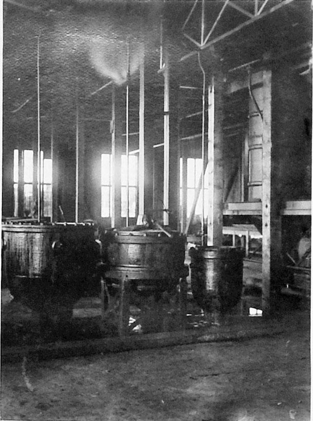 «Дельфиний завод». Жиротопные котлы. 1932 год.