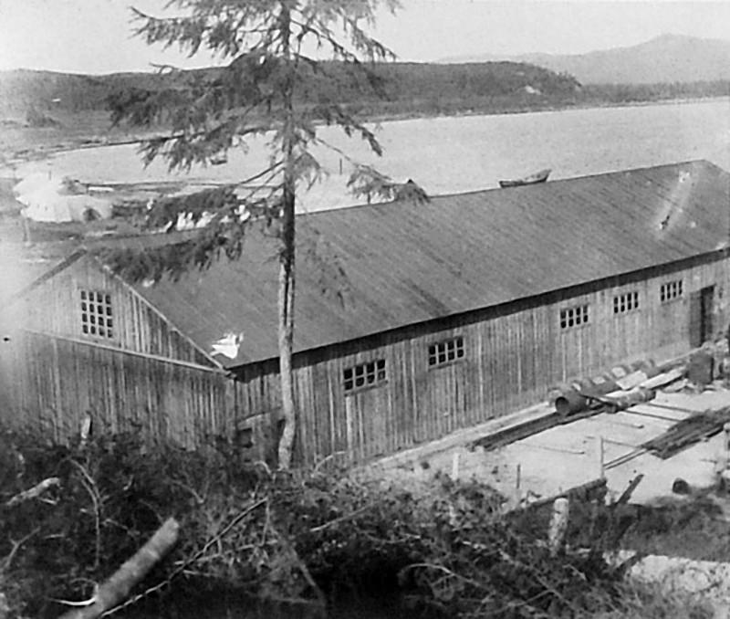 «Дельфиний завод». Склад завода. 1932 год.
