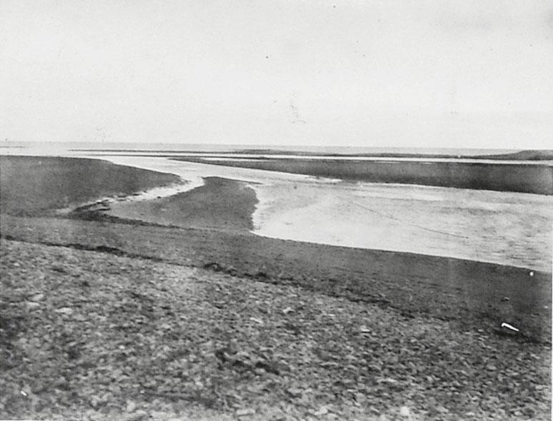 Устье реки Олы (вид на юго-восток), 30-е годы.