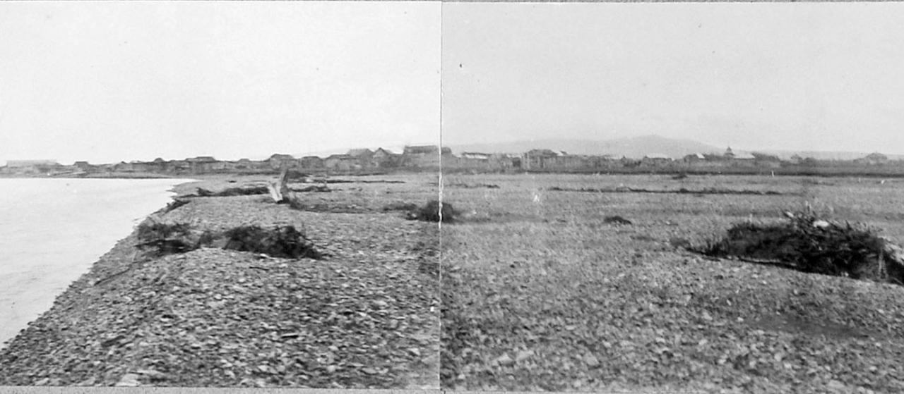 Общий вид селения Ола, 1932 год.