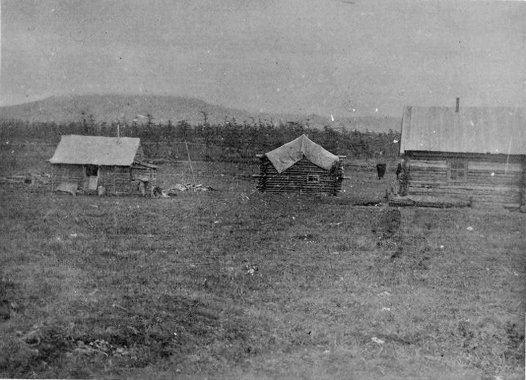 3 ДРП. Жилой посёлок. 1932 год.