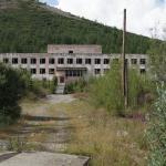Поселок Дукат. 2015 год. Средняя школа №1