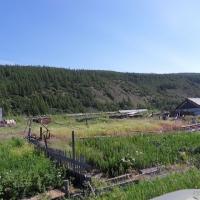 Село Меренга. Здесь была поселковая теплица.