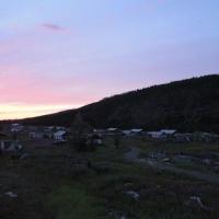 Село Меренга. Меренга вечером.