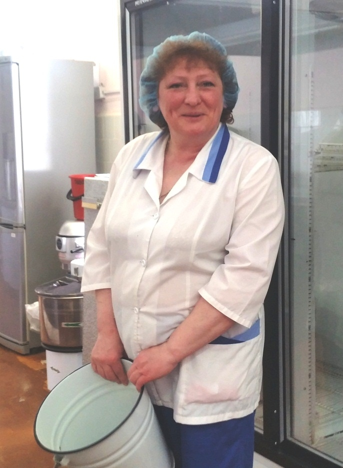 Шеф-повар Ольга Пустобаева.