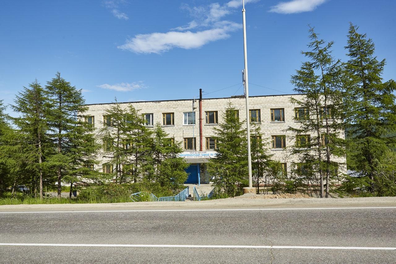Административное здание бывшего 73-го завода.