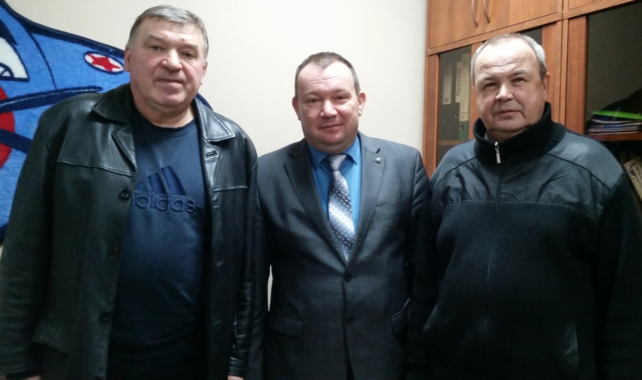 Александр Ищенко, Александр Шпаков, Виктор Черемных.