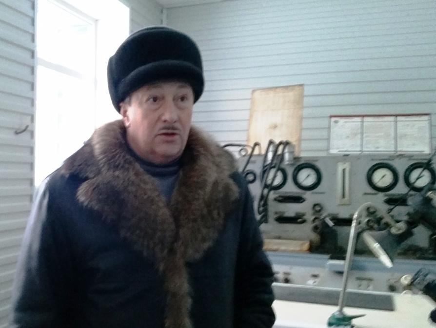 Технический директор филиала Магаданский ОАО НПК ПАНХ Виталий Дорохин.