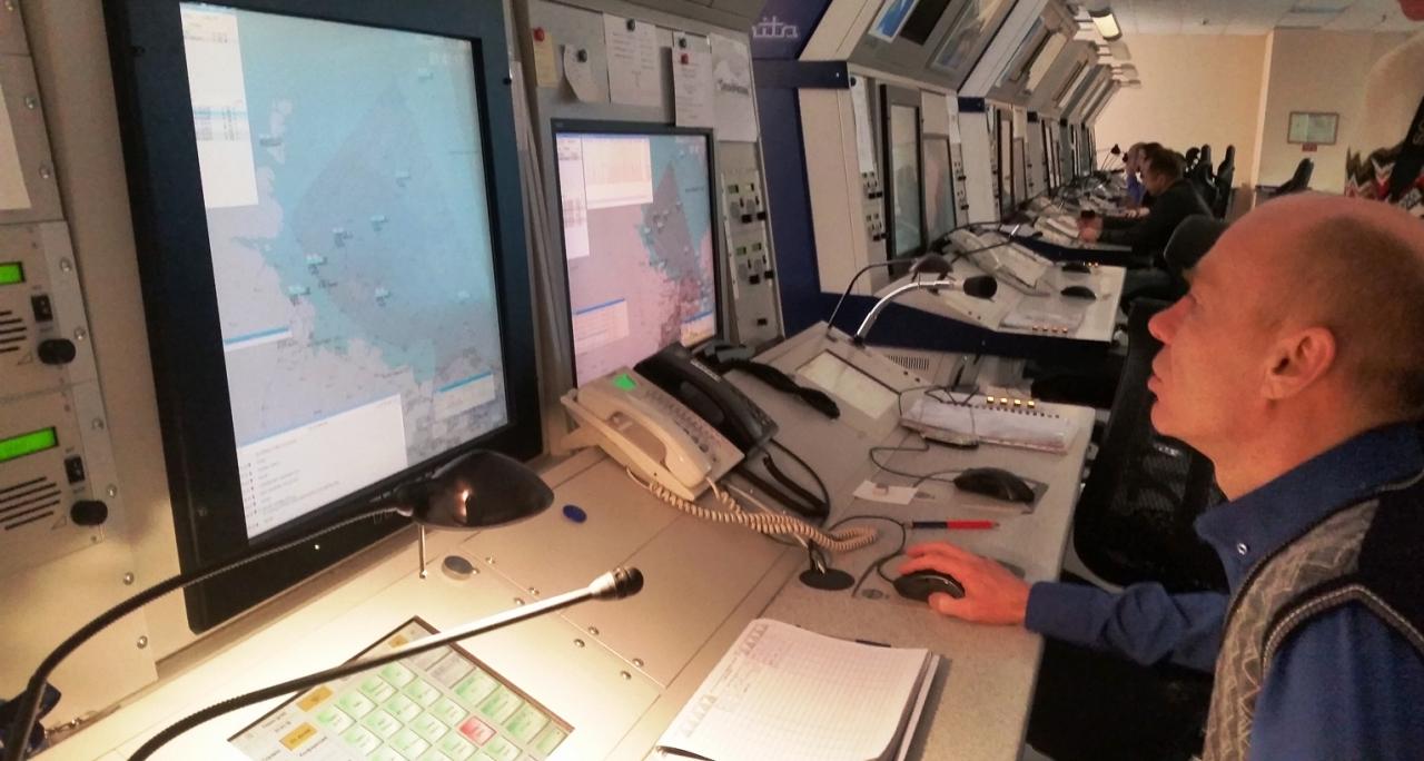 Стаж диспетчера Андрея Полковенко - более 25 лет.