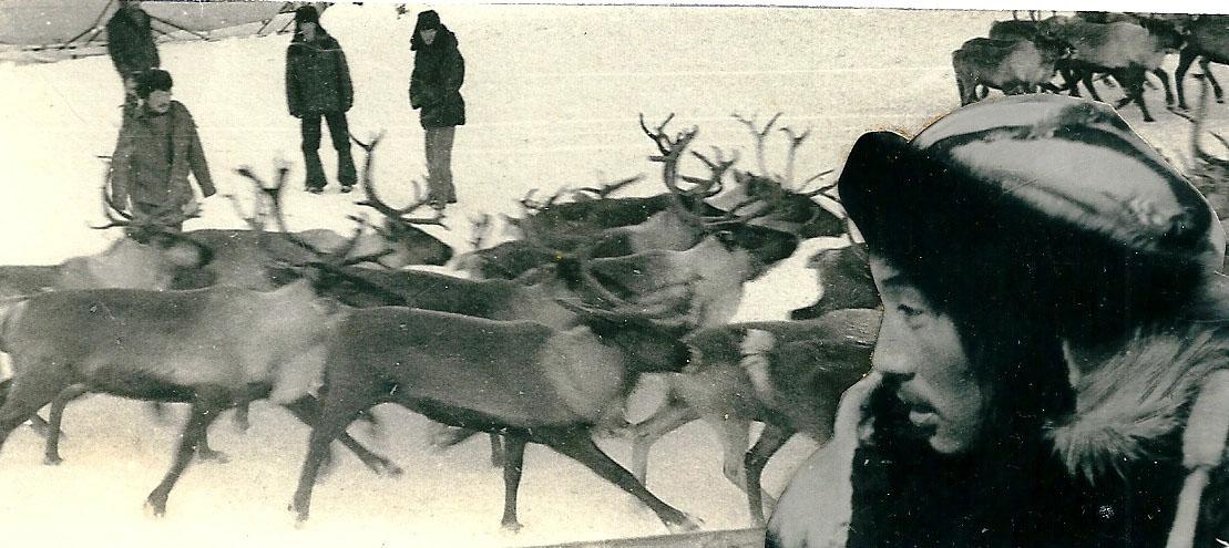 Работники второй бригады совхоза Пареньский. 1991 год