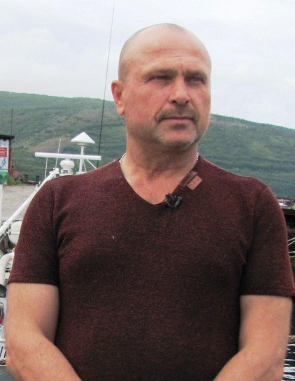 Капитан Александр Махов.