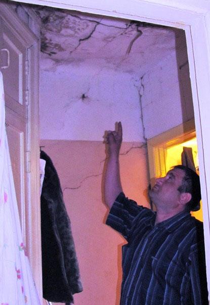 Потолок в квартире Данила Мадатова