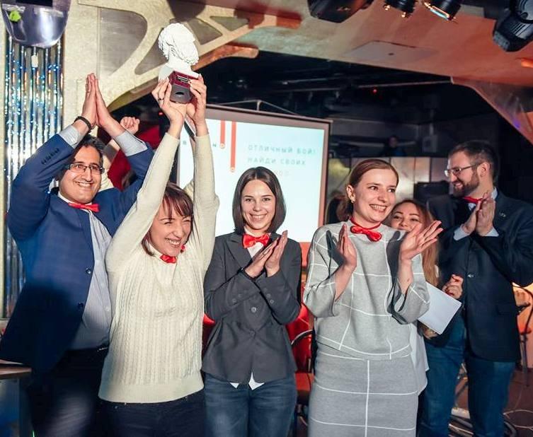 Победители февральских игр - команда «СимСити».