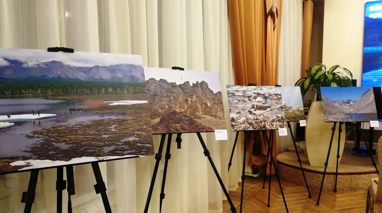 Фотовыставка «Национальный парк «Черский»» в областной библиотеке.
