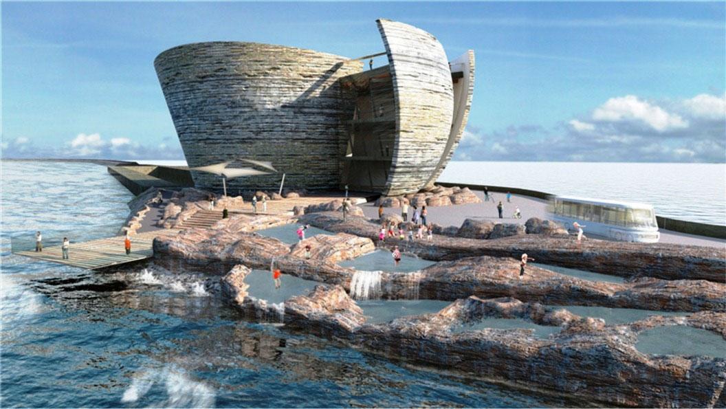 Проект приливной станции-лагуны, Великобритания.