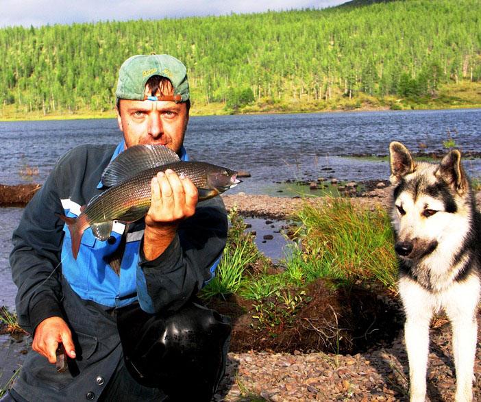 Вот такие красавцы водятся в наших реках.
