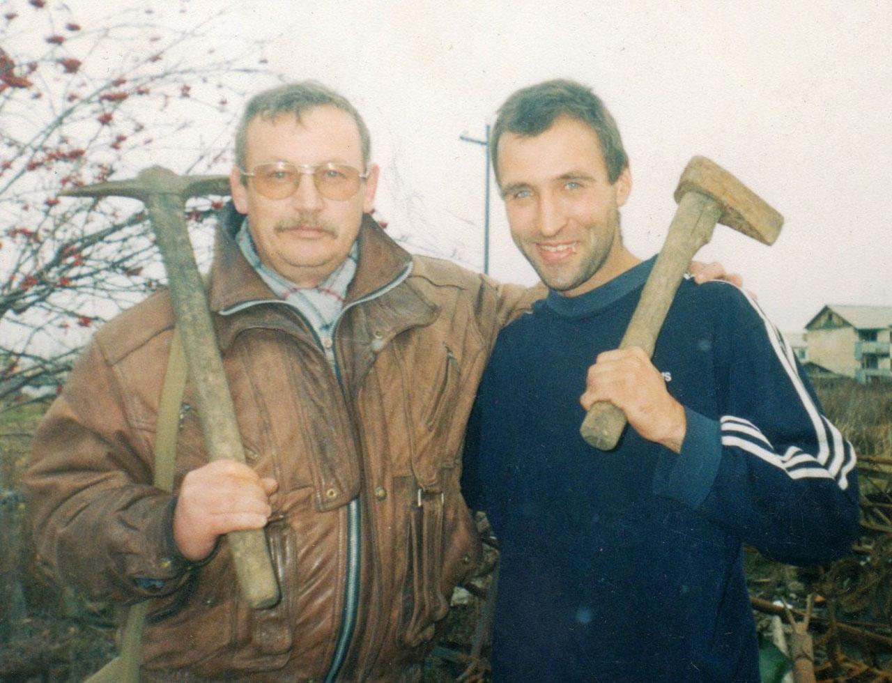 Краеведы. С Иваном Паникаровым, Таскан, 2005 год.