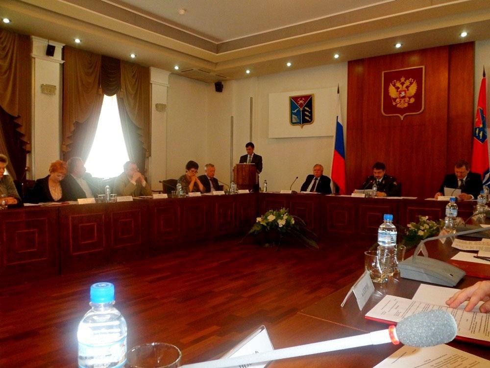Заседание антинаркотической комиссии Магаданской области.