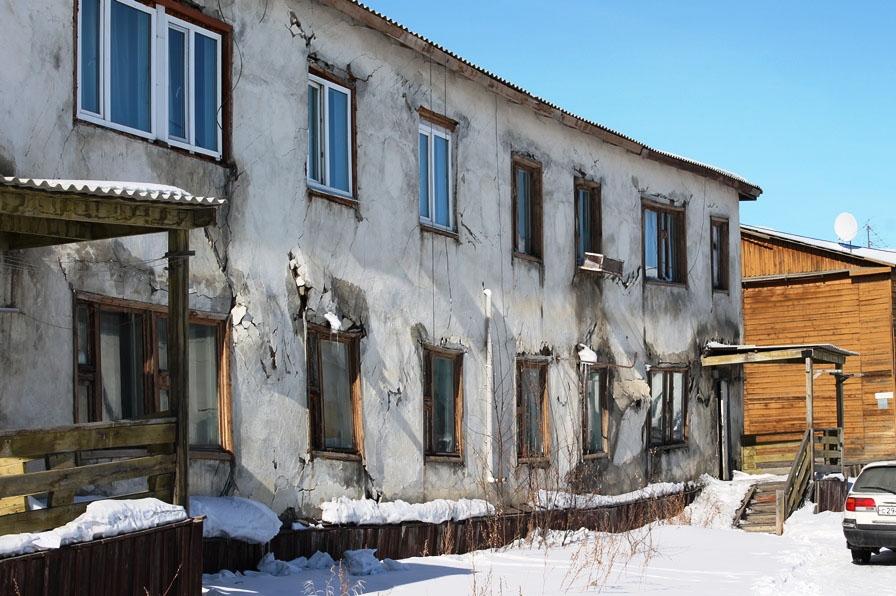 Посёлок Омчак.