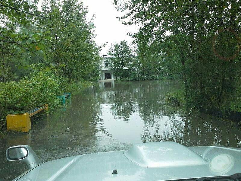 Наводнение 2013 года. Поселок Усть-Омчуг.