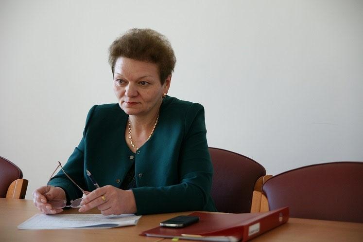 Министр здравоохранения и демографической политики Магаданской области Ирина Ларина.