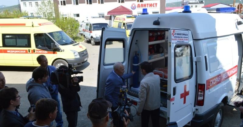 10 новых автомобилей скорой помощи передали в муниципальные образования Магаданской области.