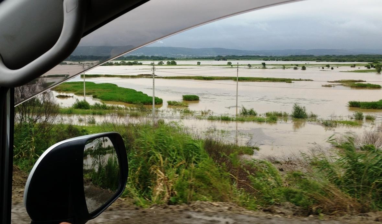 Хасанский район после разгула стихии. 2017 год.
