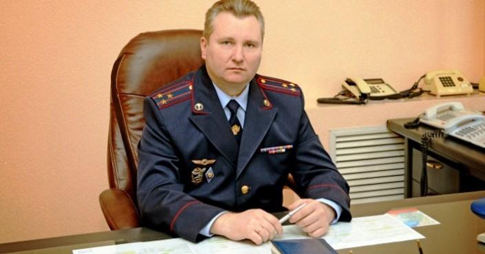 Начальник Регионального управления ФСКН России по Магаданской области Андрей Мещеряков.
