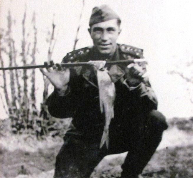 Борис Шабалтас, Германия, май 1945 г.