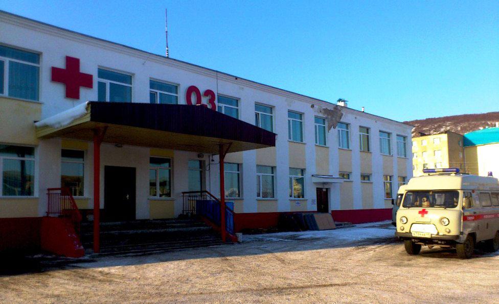 Здание скорой помощи.