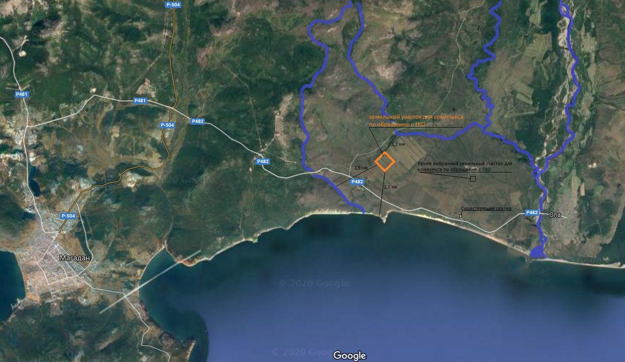 Карта расположения объекта проектирования.