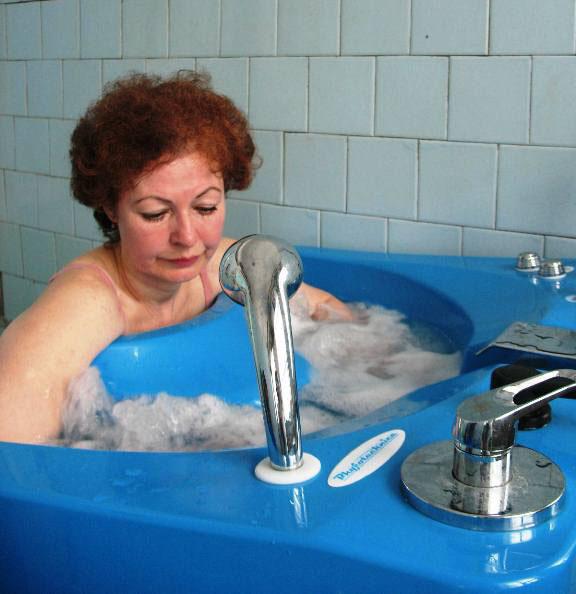 Вихревая ванна.