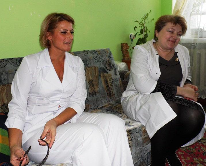 Лючия Серая и Марина Горбунова.