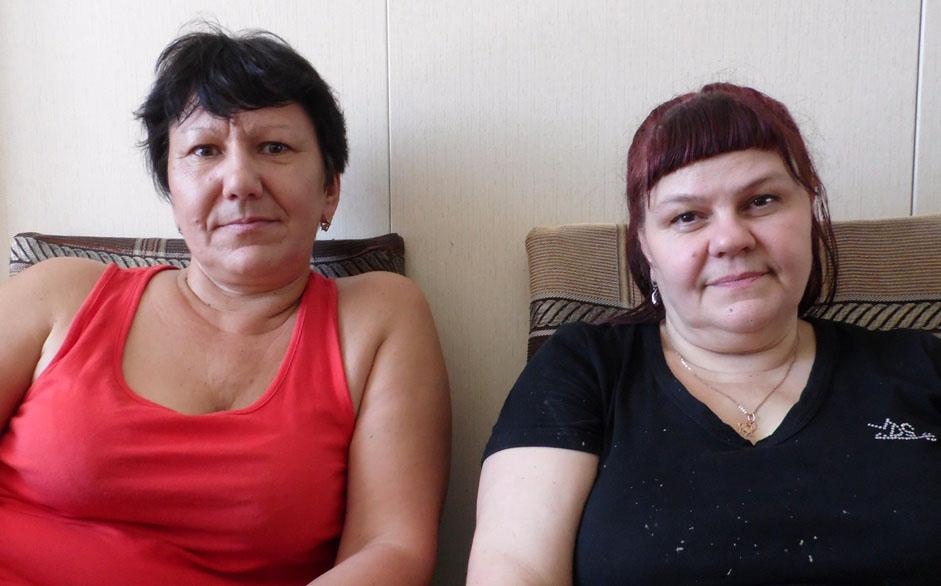Людмила Березова и Валентина Ильчук.