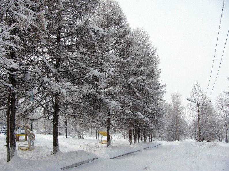Одевайся потеплей - и по тишине аллей....