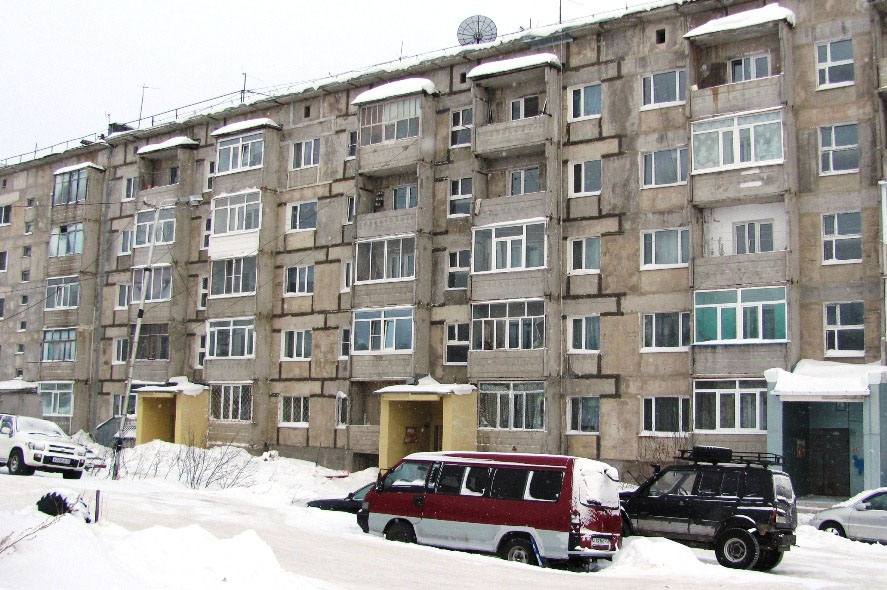 Магадан. Улица Зайцева 27, корпус 2.