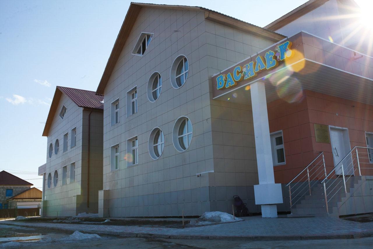 «Умный» детский сад в поселке Жатай (Якутия).