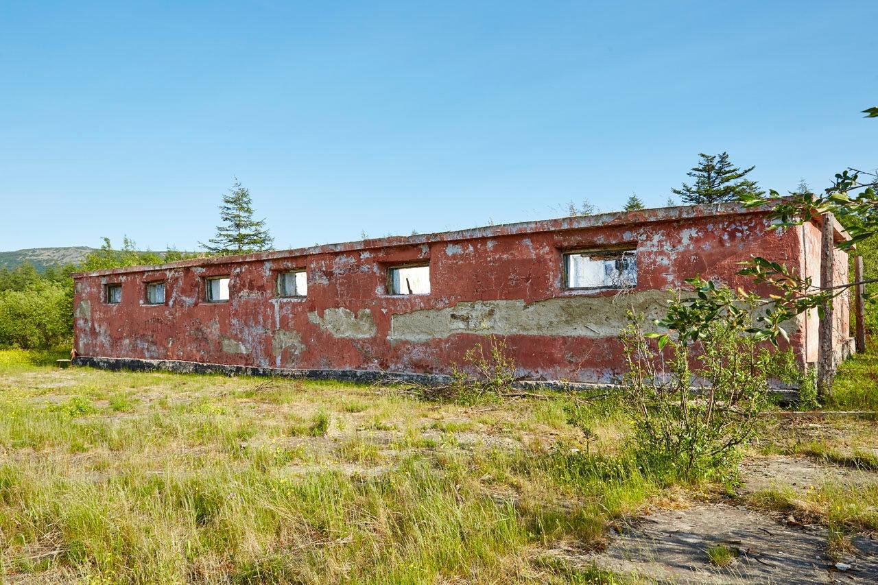 Здание гарнизонной гаупвахты. 749 отдел тыла ТОФ.