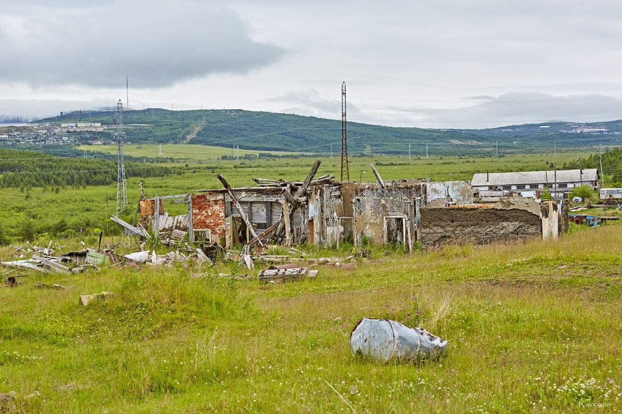 Развалины столовой 749 отдела тыла ТОФ.