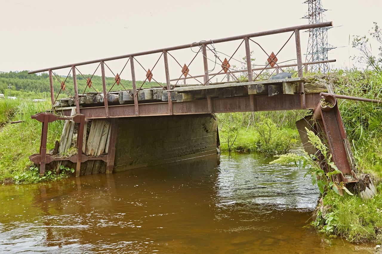 Мост через речку Балахапчан.