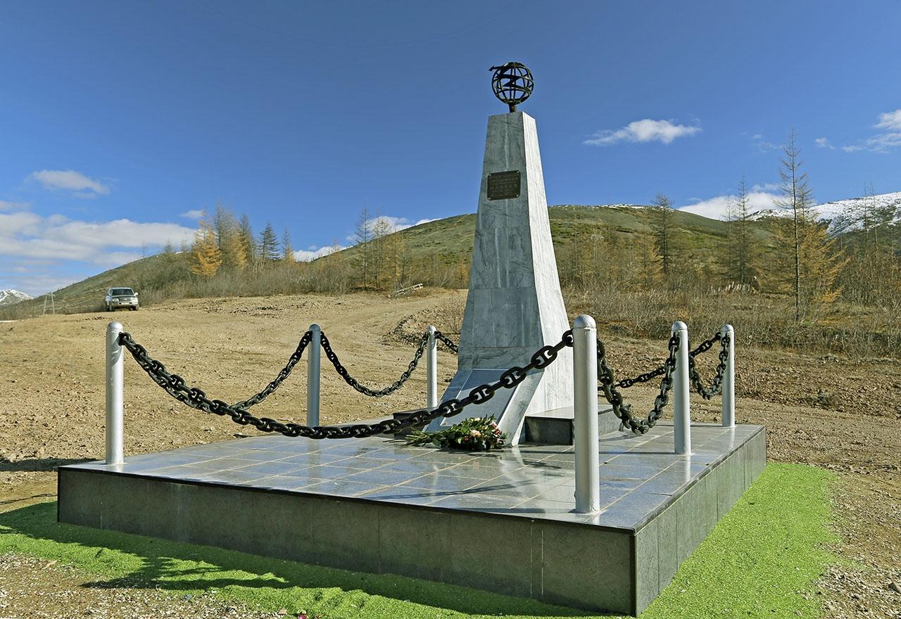 Памятник Ивану Филипповичу Макееву. 2018 год.